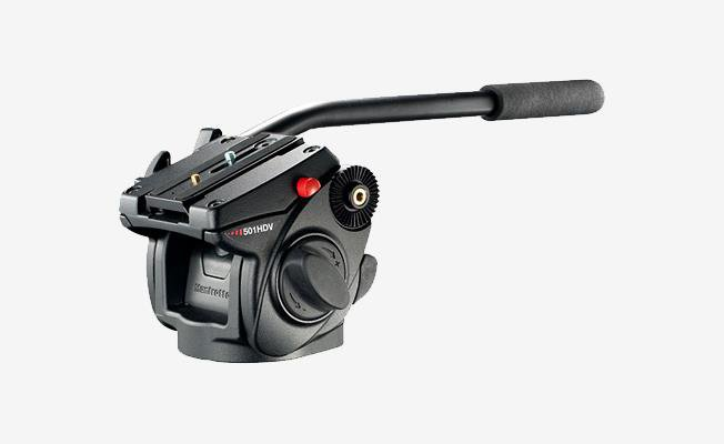 Manfrotto 525/501 Video Tripot