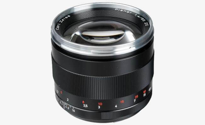 Zeiss ZE 85mm f/1.4 Lens