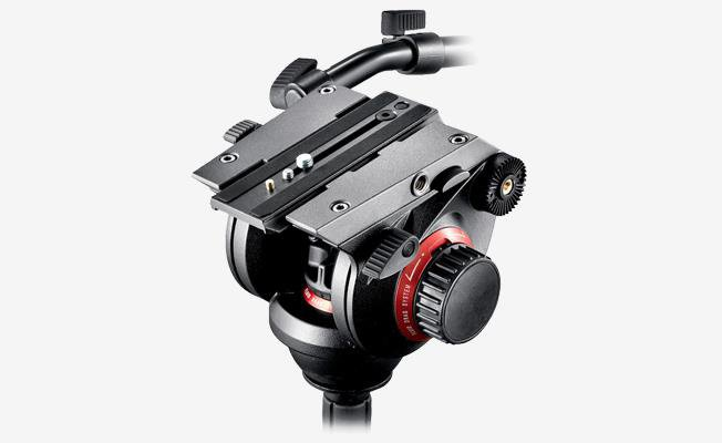 Manfrotto 504 Video Tripot
